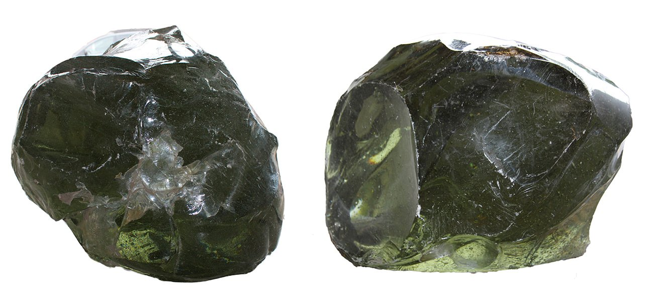A Very Large Pair of Glass Rocks