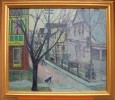 Street View Little Italy, Cleveland by Ora Coltman