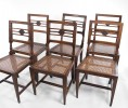 Set 6 French Country Side Chairs